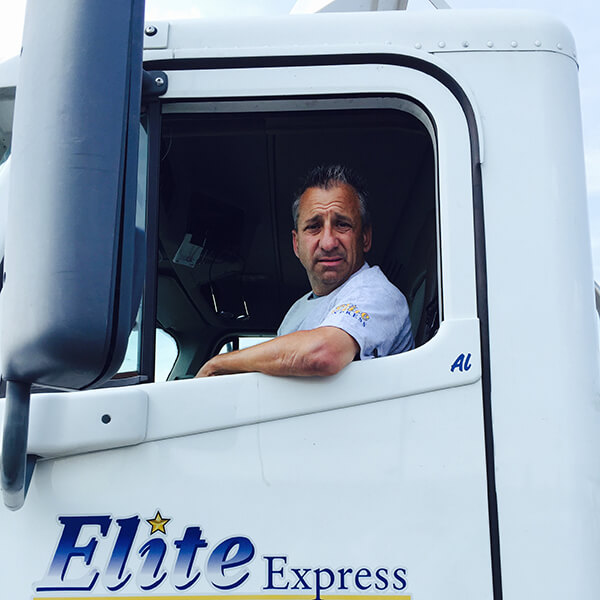 Al Luber - Elite Express Tractor Trailer